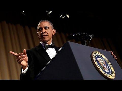 Barack Obama, seigneur de l'auto-dérision !