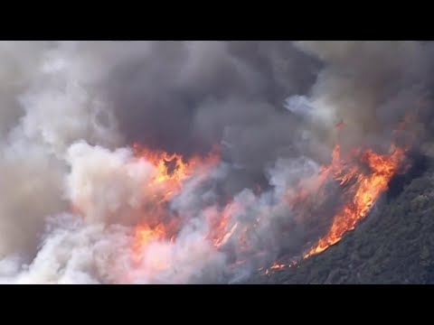 Strong Winds Fuel Destructive Southern California Wildfire | NBC Nightly News