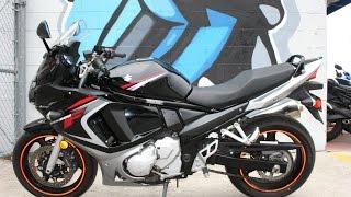 7. 2008 Suzuki GSX650F ...very nice sport touring moto with low miles!