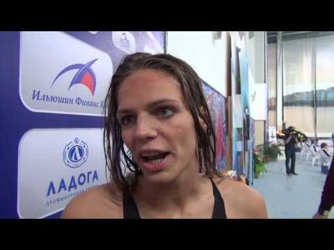 """Юлия Ефимова: Я предпочитаю """"длинную"""" воду"""