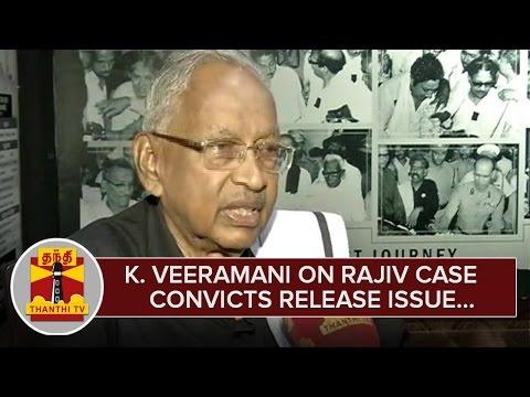 K-Veeramani-on-Rajiv-Case-Convicts-Release-Issue--Thanthi-TV