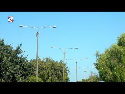 Comenzará el recambio de luminarias de alumbrado público por lámparas Led