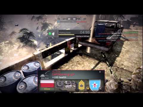 junglemap - Medal of Honor: Warfighter - Multiplayer: Team Deathmatch on Tungawan Jungle Map, 5/8 k/d PS3.