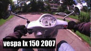 4. vespa lx 150 2007 scooter