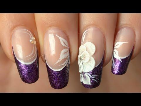 nail art - effetto floreale  3d