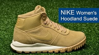 Nike Women's Hoodland Suede Shoe - фото