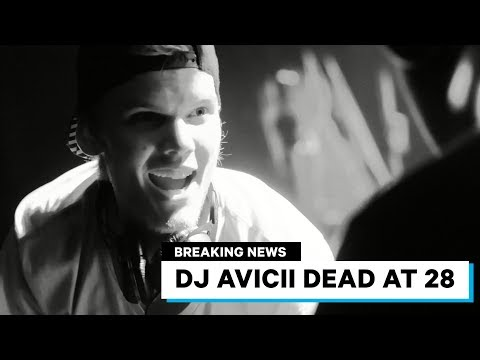 """Avicii Dead at 28 - Swedish DJ famous for """"Wake Me UP"""""""