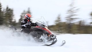 10. 2013 Yamaha Venture MP Snowmobile Review