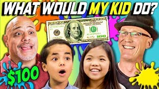 Video CAN PARENTS GUESS WHAT THEIR KID DOES WITH $100? Ep. #1 MP3, 3GP, MP4, WEBM, AVI, FLV Juli 2018