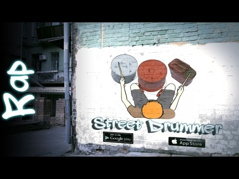 Video of Street Drummer - bucket beats