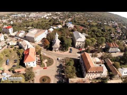 Oraşul Siret (filmare aeriană)