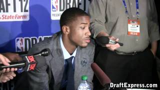Michael Kidd-Gilchrist 2012 NBA Draft Media Day - DraftExpress