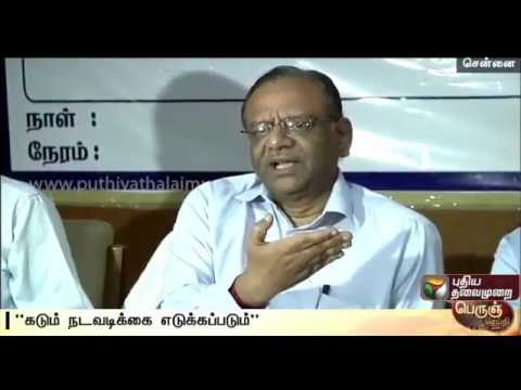 TN-election-commissioner-warns-against-auction-of-local-body-posts--Details