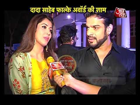 Karan Patel & Hina Khan Receive Dadasaheb Phalke A