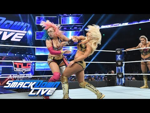 Charlotte Flair & Asuka Vs. Mandy Rose & Sonya Deville: SmackDown LIVE, Dec. 4, 2018