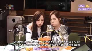 [ENG] 150328 C-Radio (Idol True Colors): Jackson, Youngji&Bambam FULL (Jackji)