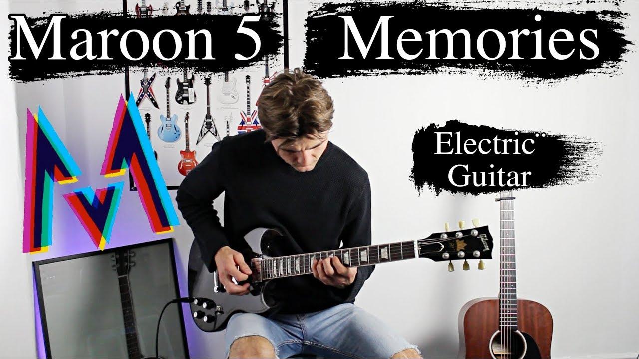 Memories – Maroon 5 – Emotional Rock Cover – Electric Guitar