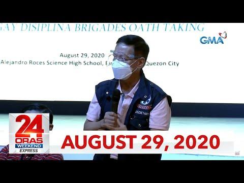 24 Oras Weekend Express: August 29, 2020 [HD]