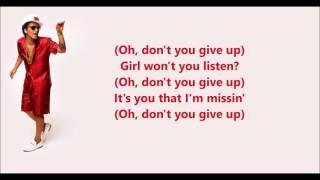 Too Good To Say Goodbye - Bruno Mars (Lyrics)