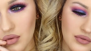 Hi loves! So today I thought I would bring a little bit of color to my channel with this Bright and bold, yet WEARABLE makeup tutorial. Also, I have a giveaway going on with IPSY to win an em cosmetics eyeshadow palette. Click this ( http://bit.ly/1PlBFdS ) to enter! There will be 3 winners and you will know as soon as you enter if you are a winner. Good luck!!Follow me on Insta: @srosebeauty Please like and subscribe :) xoxoBusiness Inquiries:contactsavannahrose@gmail.comShop unique accessories & more: http://Dollfacedcreations.etsy.comCoupon codes:$10 off PAULA'S CHOICE SKINCARE & MAKEUP:http://goo.gl/T0syzjProducts used:Urban Decay Electric PaletteVegas Nay x Eylure Grand Glamour LashesDuo Lash AdhesiveUrban Decay 24/7 Black Velvet LinerNYX Frostbite Prismatic EyeshadowMarc Jacobs Velvet Noir MascaraColourPop Brink Lippie PencilColourPop Midi Ultra Matte Lipstick