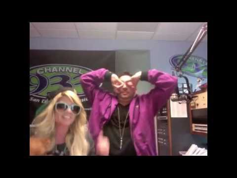 chanel west coast - Who is this Sonic Guy behind her??? http://www.channel933.com/pages/sonic.html.