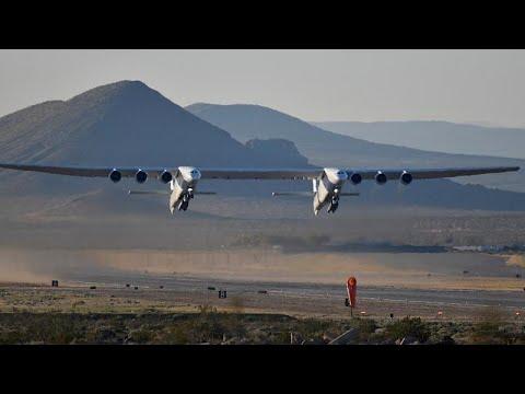 Πετυχημένη δοκιμή για το γιγαντιαίο αεροπλάνο Stratolaunch