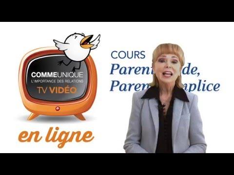 Présentation de la Formation Parent-guide, Parent-complice en LIGNE