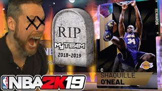 this is the END of NBA 2K19 myTeam