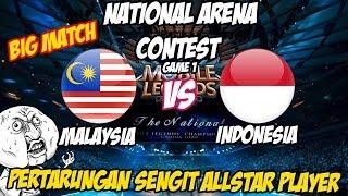 Video Pertarungan Sengit Pro Player Indo & Malay Indonesia vs Malaysia NATIONAL ARENA CONTEST 21/10/2017 MP3, 3GP, MP4, WEBM, AVI, FLV Oktober 2017