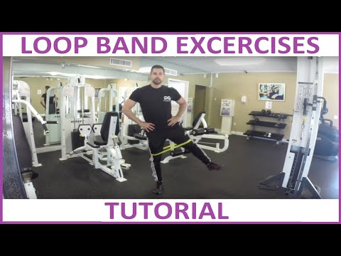 Best Resistance Loop Band Exercises - Excercise Bands by Physix Gear Sport
