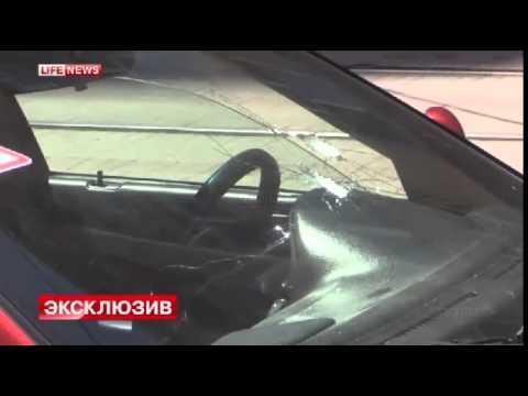 В центре Донецка идет бой между ополчением и украинскими военными