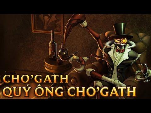 Quý Ông Cho'Gath - Gentleman Cho'Gath
