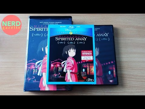 Studio Ghibli Spirited Away Blu-ray | DVD Unboxing & Review