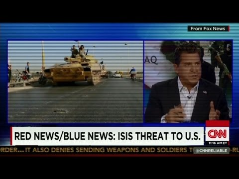 Blue - Josh Rogin and Naomi Wolf discuss whether the media is accurately presenting the danger ISIS poses to the United States.