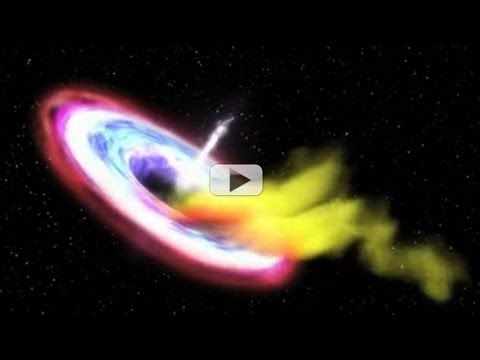 Black Hole Caught Killing Star (And Eating It For Lunch)