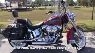 8. Used 2006 Harley Davidson FLSTC Heritage