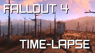 Fallout 4 is Beautiful || A Time-lapse Video || Ultra settings