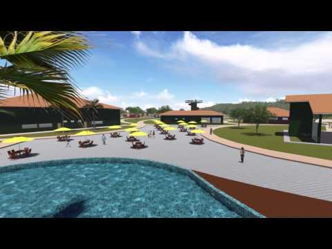 Projeto de um Hotel Fazenda em Salmourão