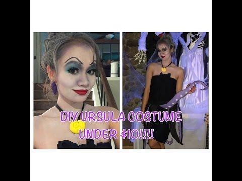 DIY Ursula Costume UNDER $10