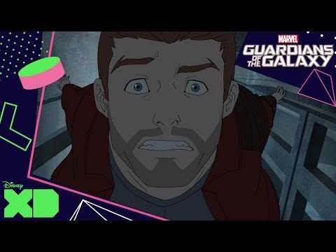 Guardians Of The Galaxy: Shorts | Star Lord Vs Modok! | Official Disney XD UK