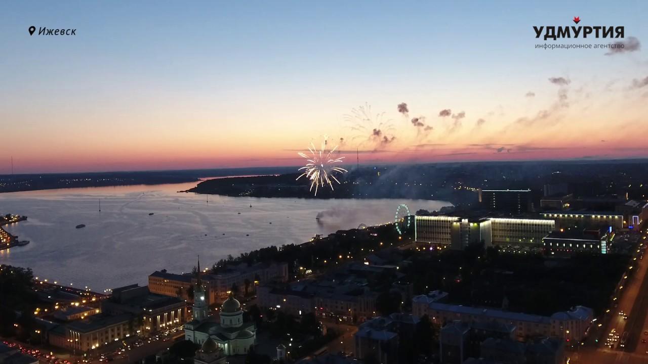 Салют на День города в Ижевске