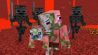 Video Zombie Pigman Life 1-3 - Minecraft animation MP3, 3GP, MP4, WEBM, AVI, FLV September 2018