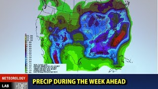Looks like a lot of rain for the South and East this upcoming week._____________________________________________________________________________LEARN TO FORECAST! Improve your university meteorological studies with practical experience, gear up for your career in meteorology, or just check out how it's done! Meteorologist  Tim Vasquez (based in the Dallas-Fort Worth area) takes a look at what's happening around the US this evening.Please donate to keep these videos coming.  I don't place ads on most of my videos and I rely on you all to help voluntarily.  The more support there is, the more videos and forecasting specials I will put out.  Thank you!DONATE VIA STREAMLABS (donors during the stream get thanked live on the air)https://youtube.streamlabs.com/UCA6mm30VIccQaYjABLaQ6EgDONATE VIA PATREONhttp://www.patreon.com/metlab TWITTER FEED@WeatherGraphics