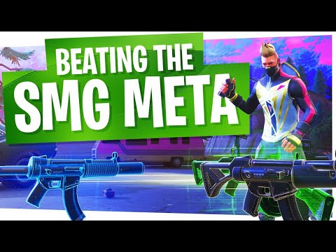 How to Win in Fortnite - Beating the SMG Meta! (видео)