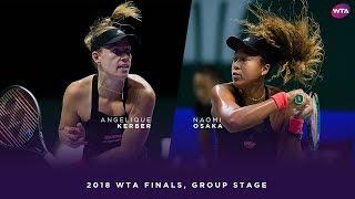 Video Angelique Kerber vs. Naomi Osaka | 2018 WTA Finals Singapore Round Robin | WTA Highlights MP3, 3GP, MP4, WEBM, AVI, FLV April 2019
