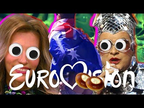 ВСЯ ДИЧЬ ЕВРОВИДЕНИЯ 2017 (видео)