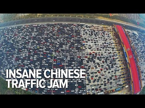 World's Biggest Ever Traffic Jam | China
