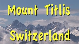 Please subscribe:  http://bit.ly/2pmdyeuSwitzerland playlist  http://bit.ly/2qsUismWe are taking you up to Mount Titlis, one of the most scenic destinations in Switzerland, high in the Swiss Alps.The most exciting excursion out of Lucerne is to Mount Titlis where you can get a chance to frolic in the snow at the top of a mountain, guaranteed because it's a glacier, so there is snow all year round, throughout the summer throughout the winter and it just takes 2 hours to get from Lucerne up to the mountaintop. It is really a thrill to go up in the summer time and play because you wouldn't expect to run into snow on a warm summer day, but there it is, and it's very easy to get there. You take the scenic train from Lucerne on a one hour journey to Engelberg enjoying beautiful views of the mountains, farms and villages along the way.Mount Titlis provides a spectacular view right into the heart of the Alps with the lofty peaks of the Jungfrau, Munch and Eiger visible in the distant Bernese Overland on a clear day, the Titlis viewing platform at 10,000 feet elevation has an elaborate multistoried restaurant, café and gift shop complex, along with ice cream snack bar and coffee bar out on the terrace in typical Swiss fashion. They have civilized this mountain and provided creature comforts while bringing you right into this wild natural environment.Another activity while you're at the top of Mount Titlis is the glacier tunnel. It's an ice tunnel that they've carved right into the foundation of the glacier itself and there is colorful lighting inside. They have some ice sculptures inside and secure footing on a good rubber mat walkway and it's a lot of fun. You walk in the tunnel which goes around in a small loop circle. It just takes a few minutes but be sure to look for the ice grotto while you're up top. One of the most exciting attractions is called the Cliff Walk. It's a pedestrian suspension bridge that gives you dramatic views looking all around, and even straight dow