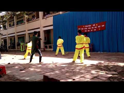 THPT Nguyễn văn Hưởng múa  hoạt cảnh