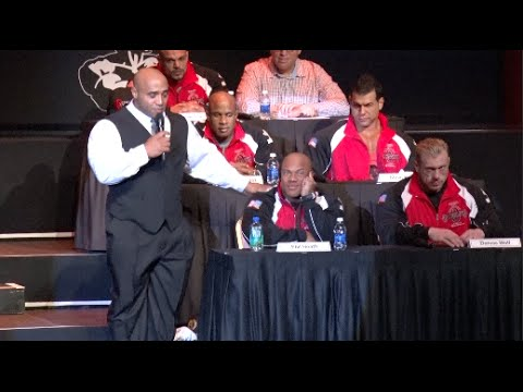 2014 Mr. Olympia   Press Conference   Part 1